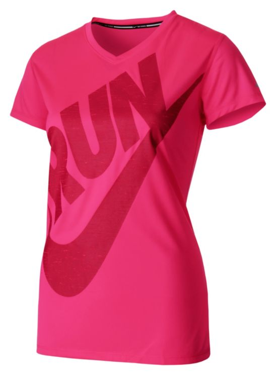 Is Run Graphic T-skjorte Dame