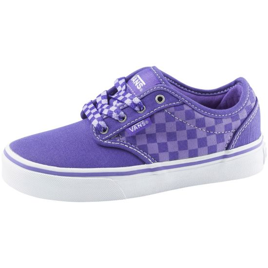 Atwood Fritidssko Jr. CHECKERS/PURPLE