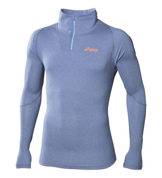 Jersey 1/2 Zip Top SKYFALL BLUE/HE