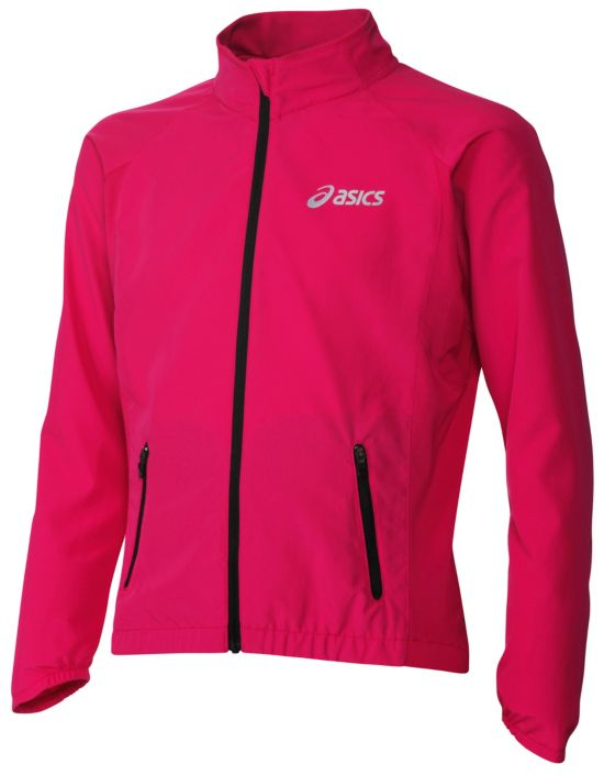 Girls Woven Jacket Junior MAGENTA