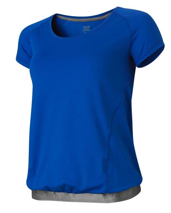 Met Loose T-skjorte Dame SPECTRUM BLUE