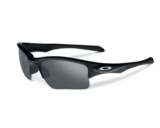 Oakley Quarter Jacket Polished Blk/Black Iridium