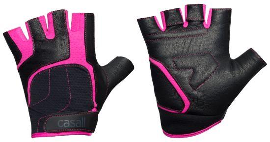 Exercise Glove Treningshansker Dame BLACK/PINK
