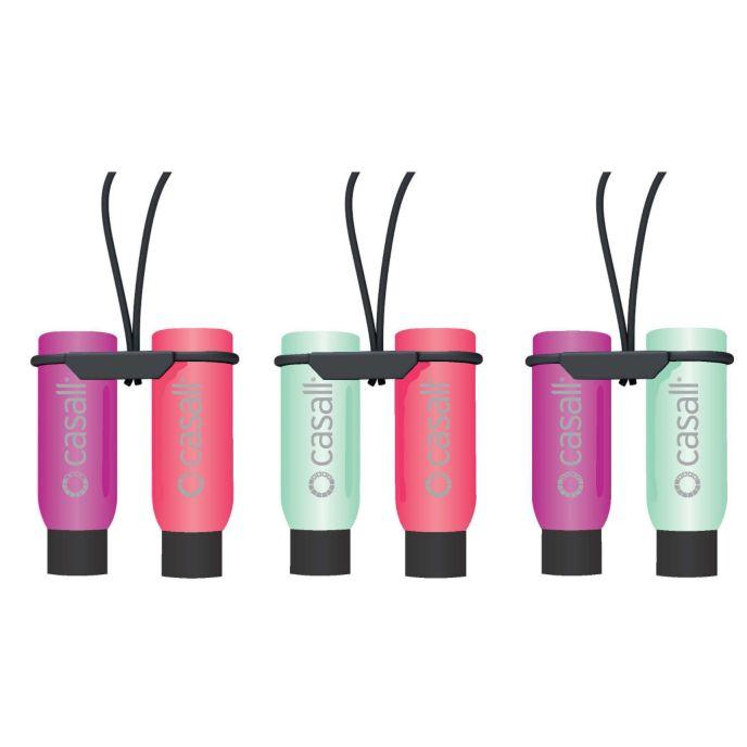 Twin Bottle Silikonflasker 2 stk