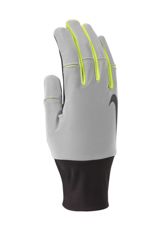 Mens Dri-Fit Tailwind Run Glove BLACK/VOLT