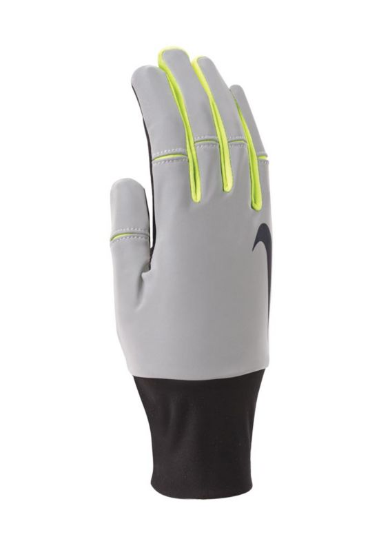 Womens Dri-Fit Tailwind Run Glove BLACT/VOLT