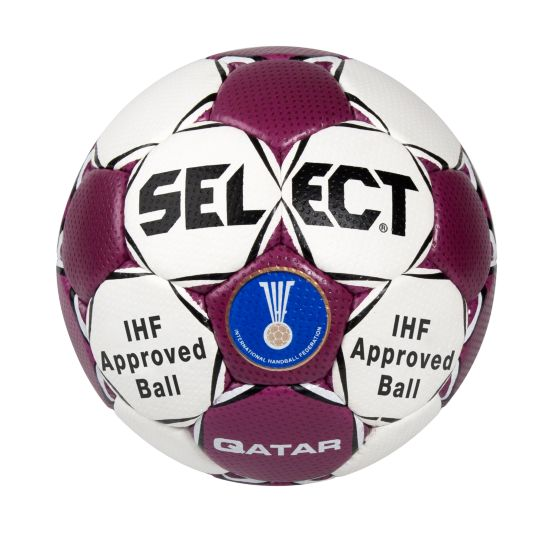 Qatar Håndball HVIT/BORDEAUX
