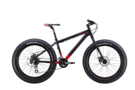 Mammut 24 Fatbike Junior BLACK