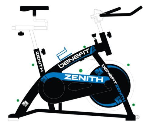 Zenith Spinningsykkel