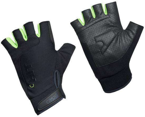 HIT Exercise glove short BLACK/GREY