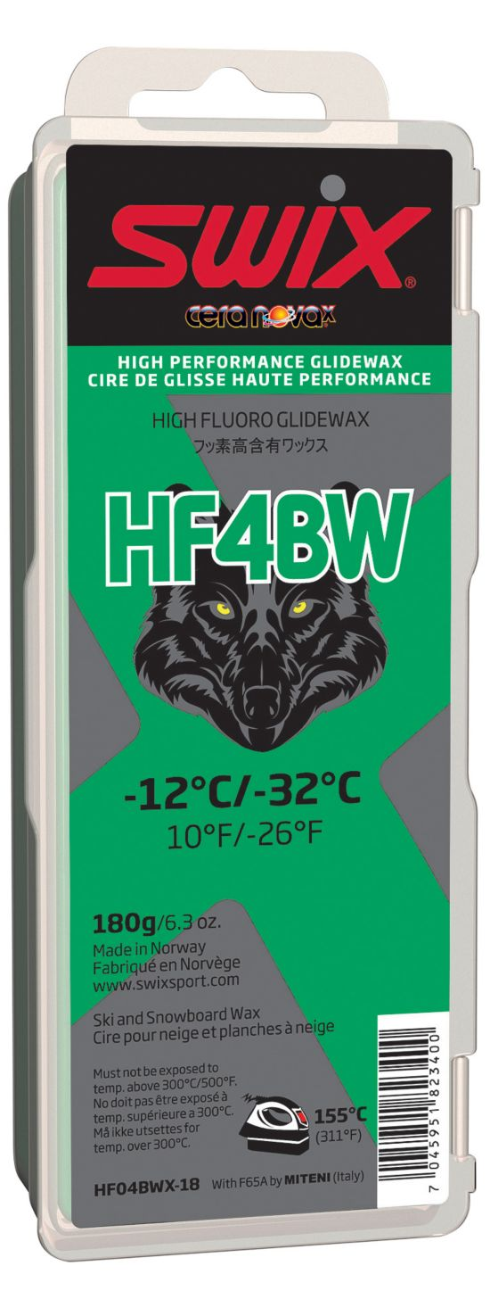 Swix Hf4Bwx Svart W Glider, 180Gram