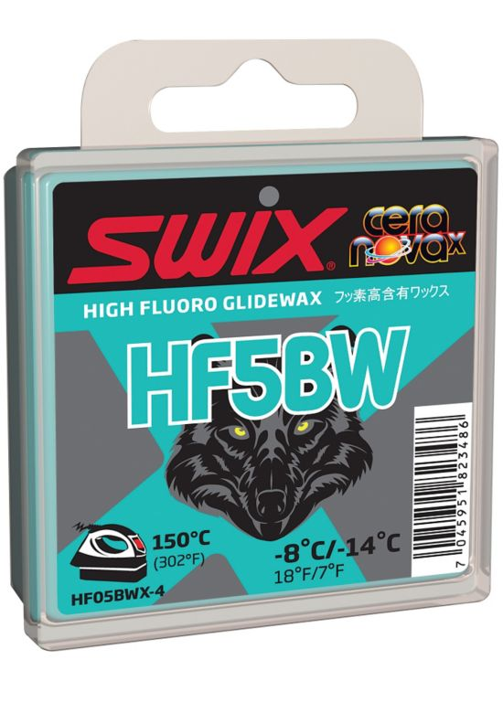 Swix Hf5Bwx Sort W Glider 40Gram