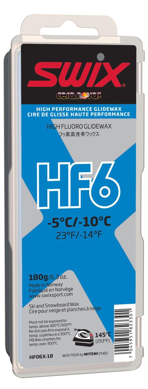 Swix Hf6X Blå Høyfluor Glider 180Gram
