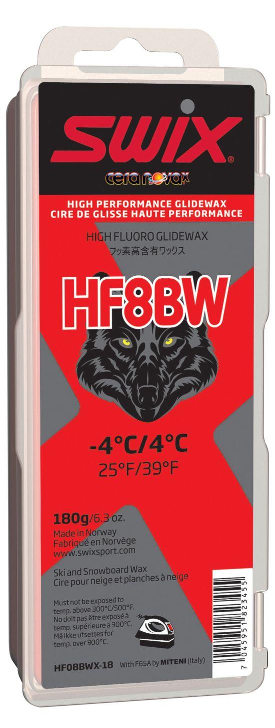 Swix Hf8Bwx Sort W Høyfluor Glider 180Gram