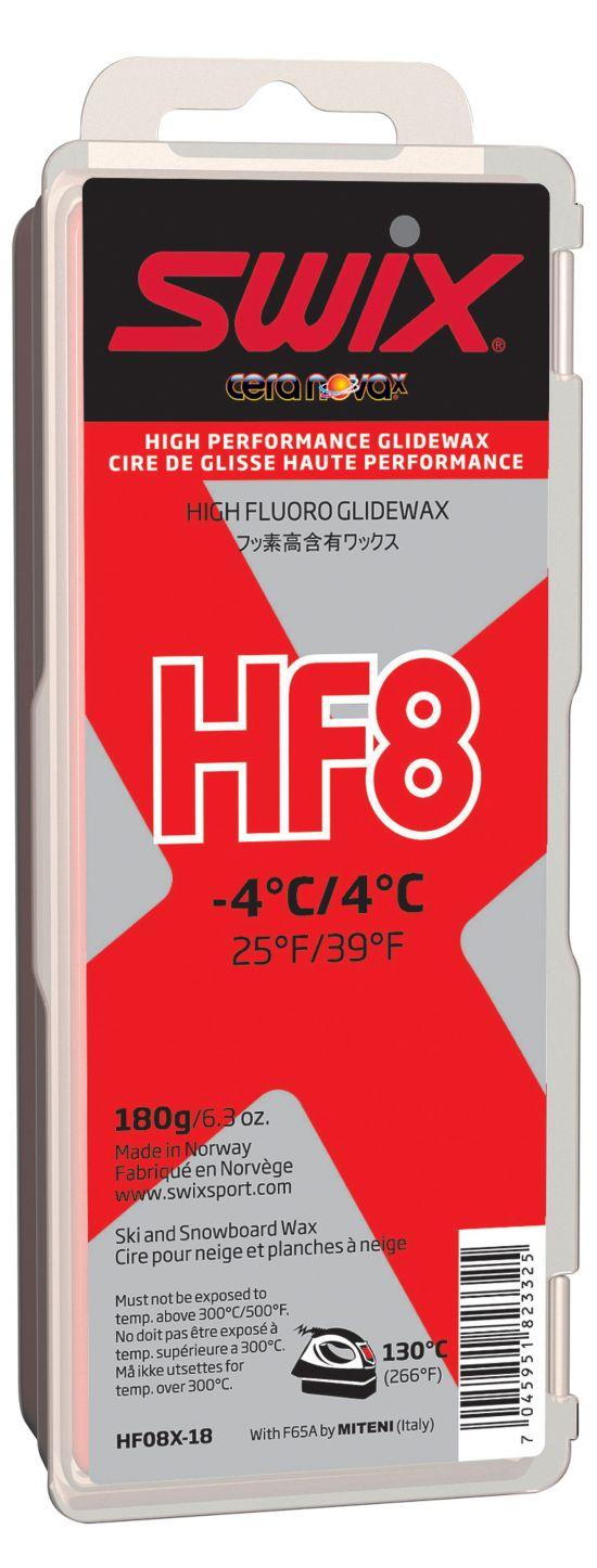 Swix Hf8X Rød Høyfluor Glider 180Gram