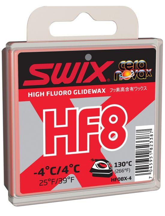 HF8X Rød Høyfluor Glider -4/+4°C 40gr