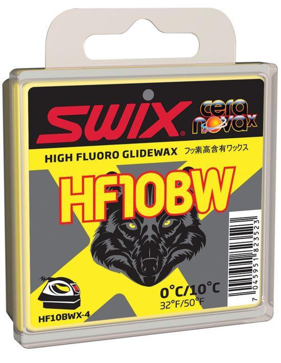 Swix Hf10Bwx Sort Høyfluor Glider 40Gram