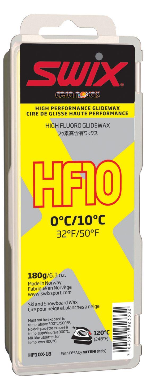 Swix Hf10X Gul Høyfluor Glider 180Gram