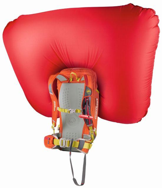Light Removable Airbag ready 30 L DARK ORANGE-SMO