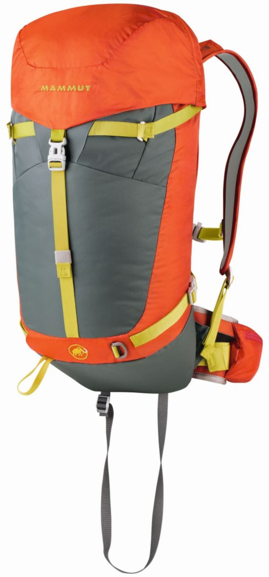 Light Removable Airbag ready 30 L DARK ORANGE-SMO