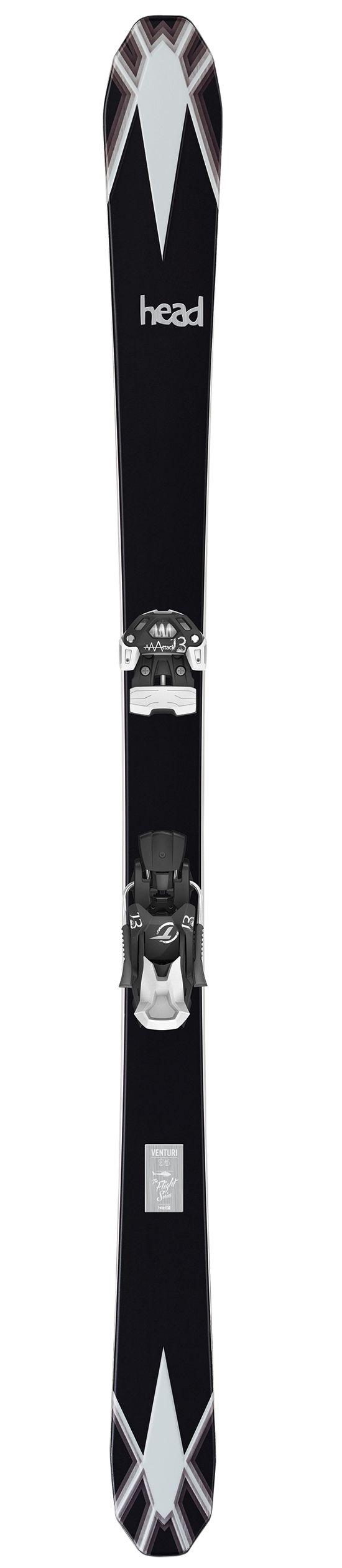 Venturi 95 Frikjøring Ski BLACK/WHITE