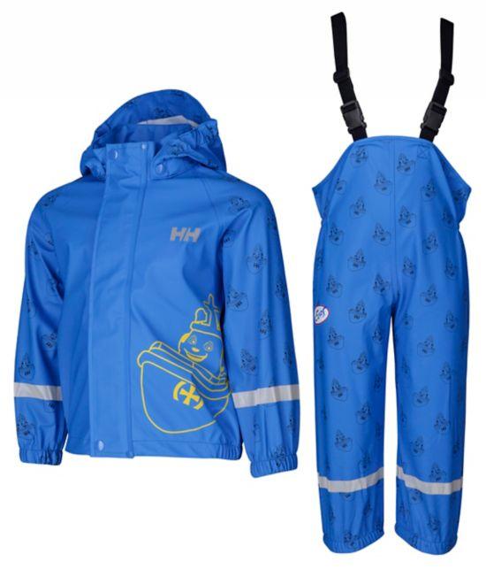 Måsvær Elias Regnsett Barn  RACER BLUE