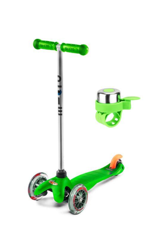 Mini Micro Grønn Sparkesykkel