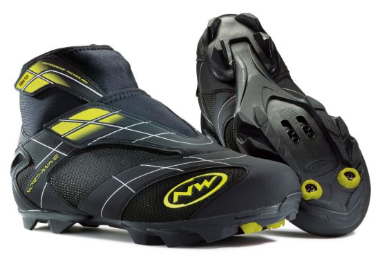 MTB Celsius Artic Storm GTX Sykkelsko BLACK/YELLOW