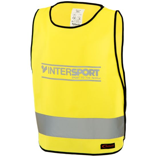 Refleksvest Intersport S-XL GUL