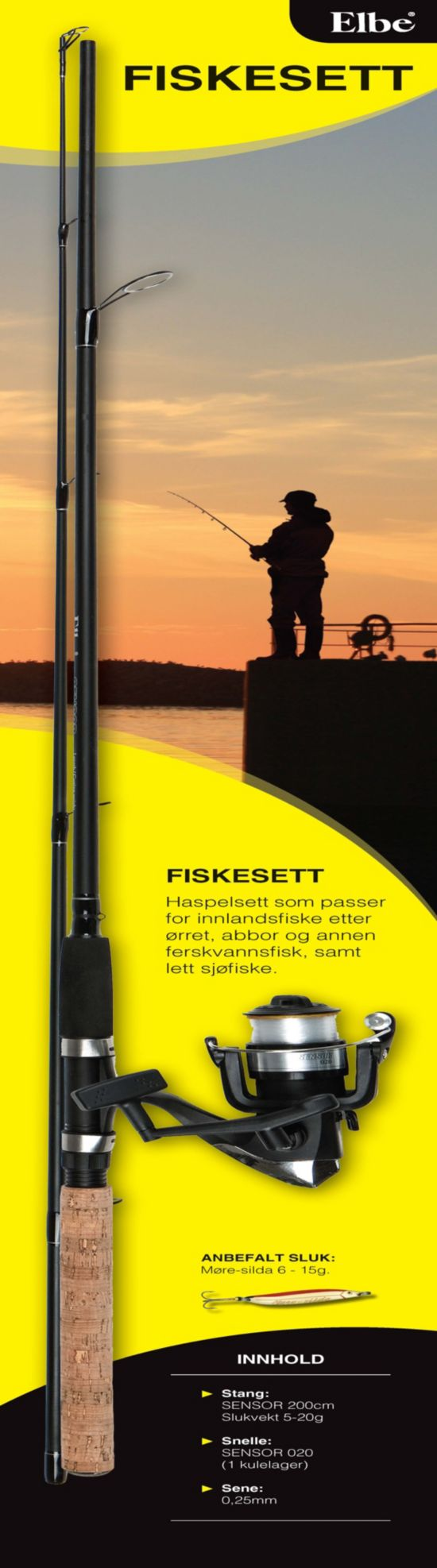 Fiskesett Allround 5-20Gr