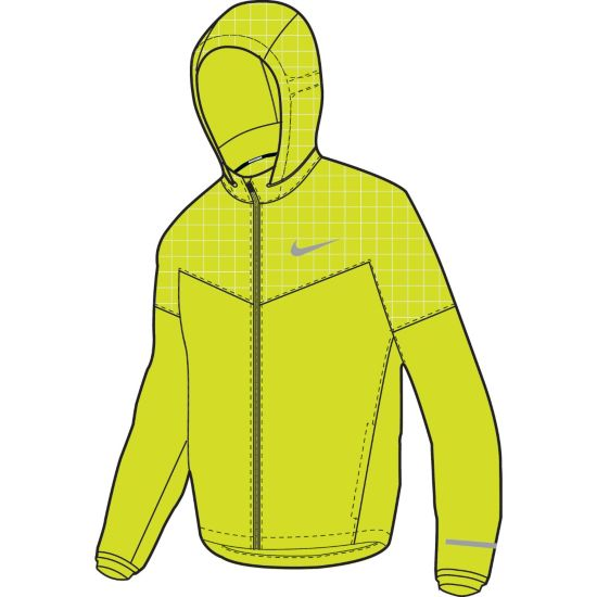 Flicker Vapor Jacket Løpejakke