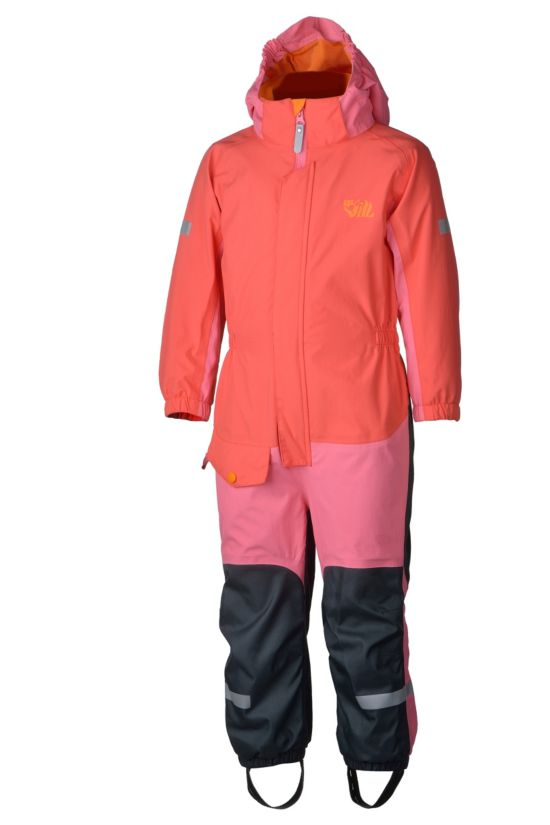 Furu 2.0 2-lags Parkdress Barn HOT CORAL