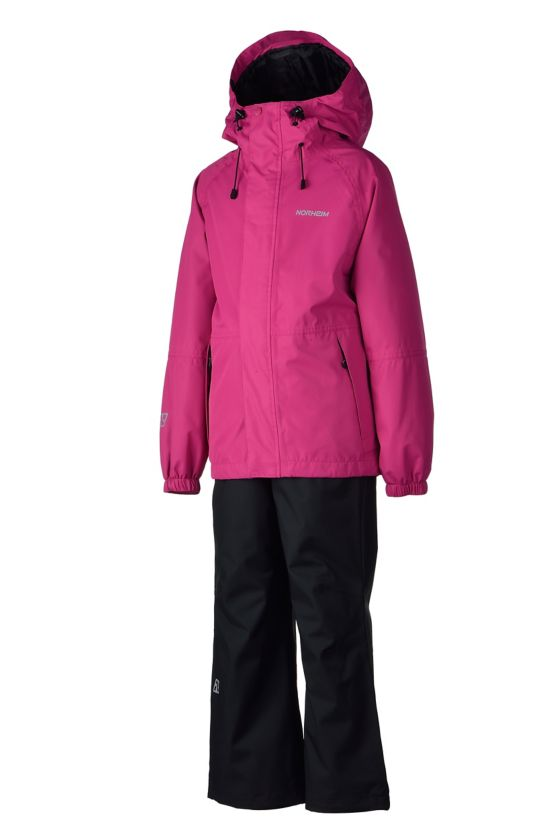 Tuv 3.0 Regnsett Junior VERY BERRY PINK