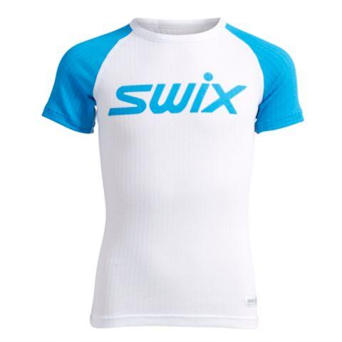 RaceX Bodyw kortermet superundertøyoverdel junior BRIGHT WHITE LO