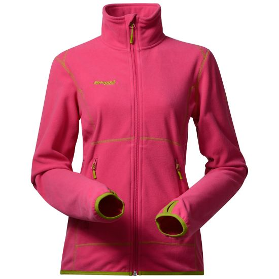 Ylvingen Fleecejakke Dame HOT PINK/LIME