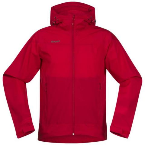 Microlight softshelljakke herre RED