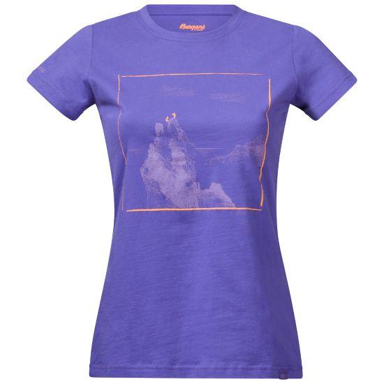 Svolværgeita T-skjorte Dame FUNKYPURPLE
