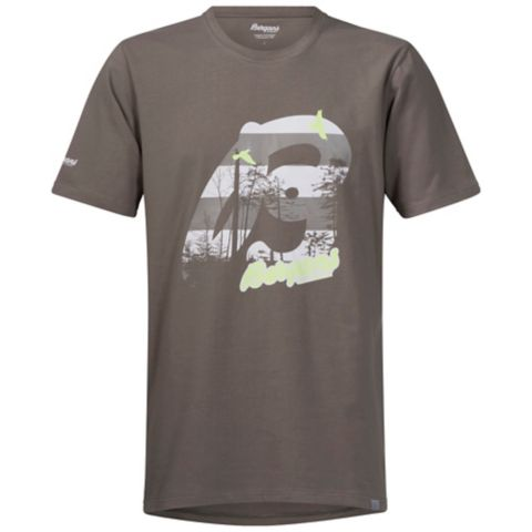 Forest T-skjorte Herre FADED OLIVE/ALU