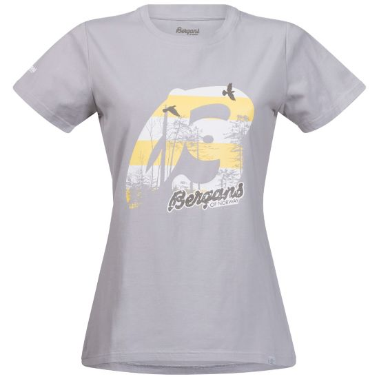 Forest T-skjorte Dame ALU/WHITE/SOLID
