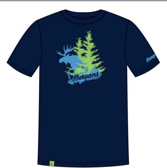 Eik T-skjorte Herre NAVY