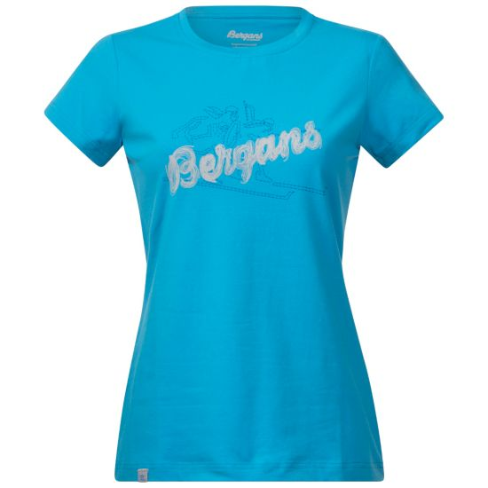 Bryggen T-skjorte Dame BR SEABLUE