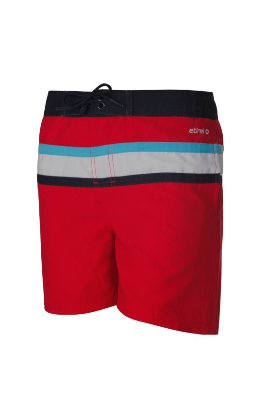 Loritz Badeshorts Junior RED/WHITE/NAVY