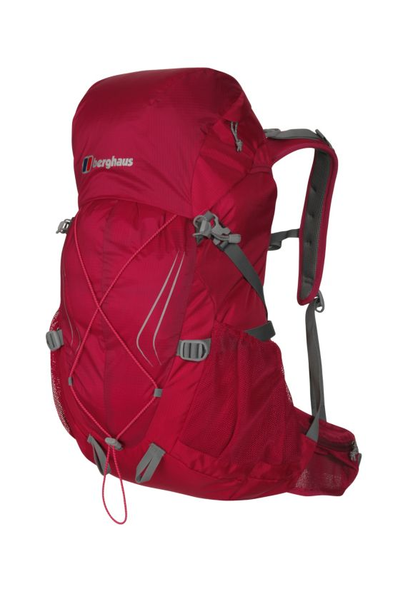 Trailspeed 30L Ryggsekk DARK CERISE/RAS