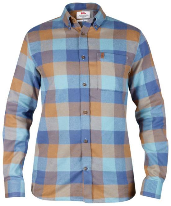Övik Big Check Skjorte Herre UNCLE BLUE
