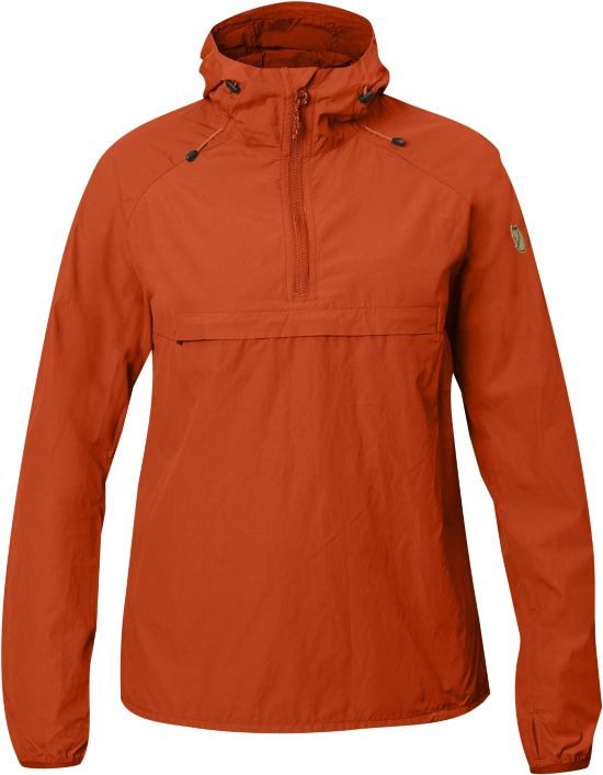High Coast Wind Anorakk Dame FLAME ORANGE