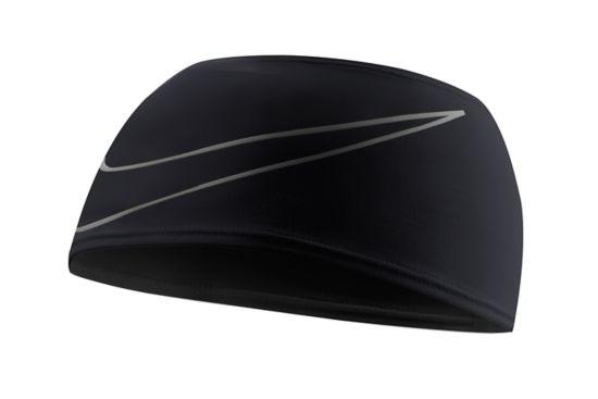 Swoosh Doublewide Headband BLACK/SILVER