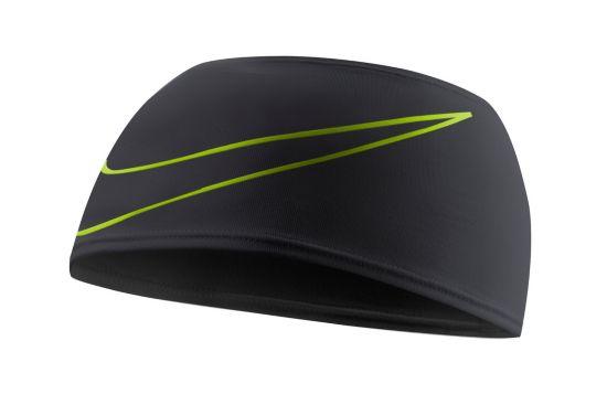 Swoosh Doublewide Headband BLACK/VOLT