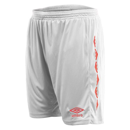 UX-1 Shorts WHITE / RED