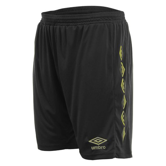 UX-1 Shorts BLACK / YELLOW