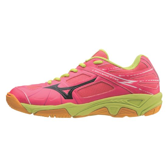 Lightning Star Treningssko Jr. NEON PINK/BLACK